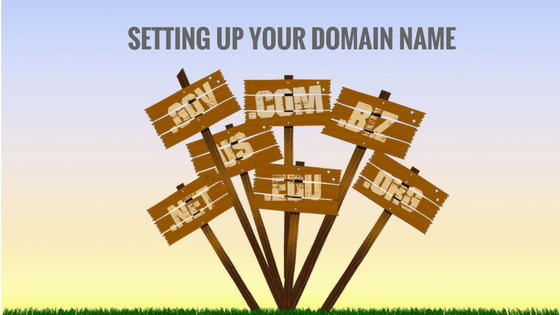Setting Up A Domain Name with GoDaddy