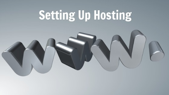 Setting Up Hosting