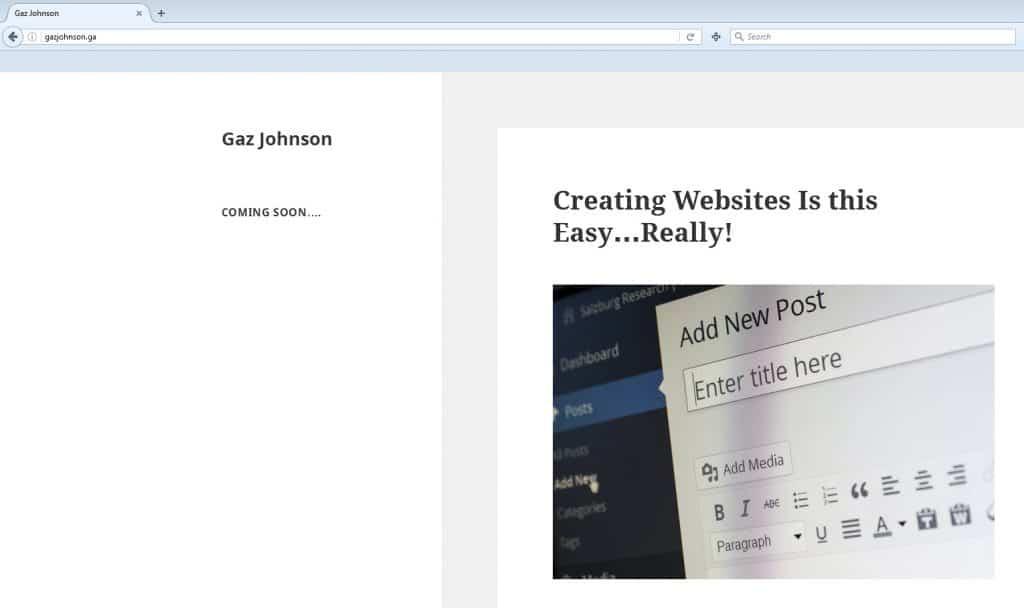 Wordpress insalled vis cpanel
